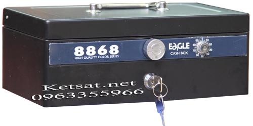 Hộp đựng tiền mật mã 8868-Black
