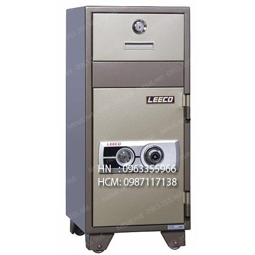 Két sắt thả tiền nhập khẩu Leeco PD20