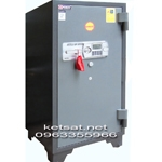 Két sắt Kumho cánh đúc khóa điện tử báo động KCC200DT